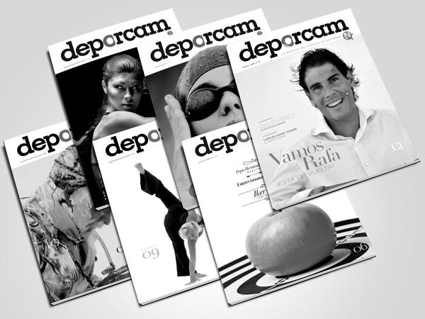 Portadas revista Deporcam /selección